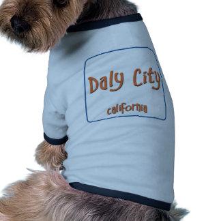 Daly City California BlueBox Doggie Tee