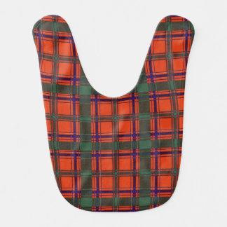 Dalzell clan Plaid Scottish tartan Bib