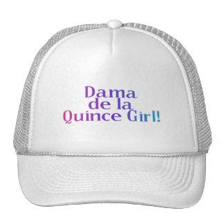 Dama de la Quince Girl Trucker Hat