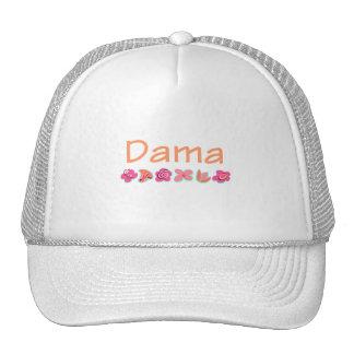 Dama (peach color) trucker hat