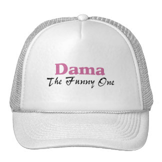 Dama The Funny One Hats