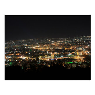 Damascus at night - Syria Postcard