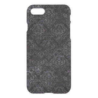 DAMASK1 BLACK MARBLE & BLACK WATERCOLOR iPhone 8/7 CASE