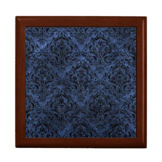 DAMASK1 BLACK MARBLE & BLUE STONE (R) GIFT BOX