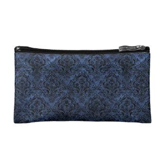 DAMASK1 BLACK MARBLE & BLUE STONE (R) MAKEUP BAG