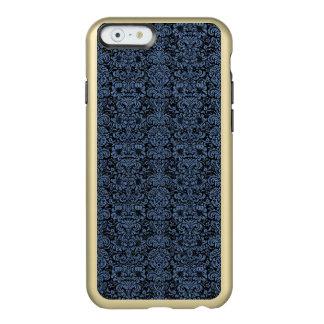 DAMASK2 BLACK MARBLE & BLUE DENIM INCIPIO FEATHER® SHINE iPhone 6 CASE
