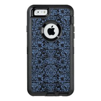 DAMASK2 BLACK MARBLE & BLUE DENIM OtterBox DEFENDER iPhone CASE