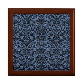 DAMASK2 BLACK MARBLE & BLUE DENIM (R) GIFT BOX