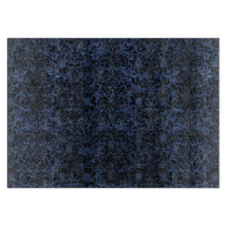 DAMASK2 BLACK MARBLE & BLUE STONE (R) CUTTING BOARD