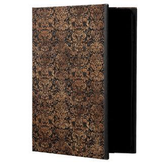 DAMASK2 BLACK MARBLE & BROWN STONE POWIS iPad AIR 2 CASE