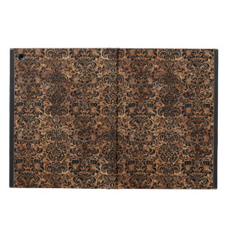 DAMASK2 BLACK MARBLE & BROWN STONE (R) CASE FOR iPad AIR