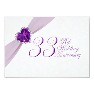 33rd Wedding Anniversary GiftsT-Shirts, Art, Posters & Other Gift ...