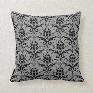 Damask American MoJo Pillo Throw Pillow