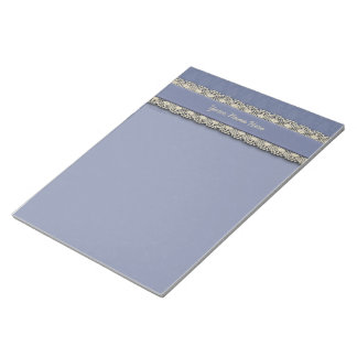 Damask Blue Tone on Tone Memo Note Pads