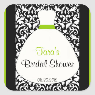 Damask Bridal Sticker