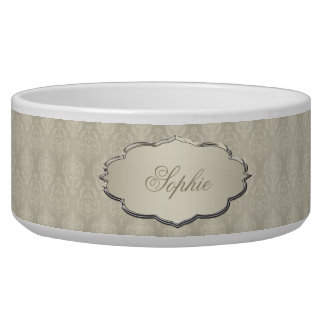 Damask Candlelight Cream
