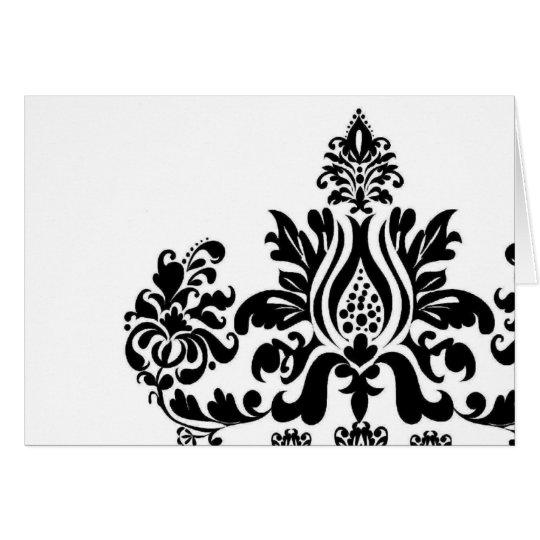 Damask Card