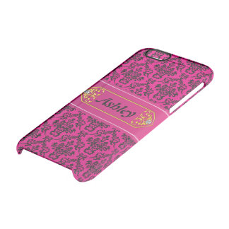 Damask Clear iPhone 6/6S Case
