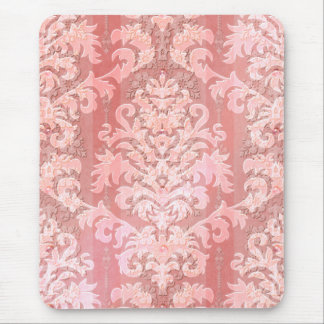 Damask Cut Velvet, Antique Lace Mouse Pad