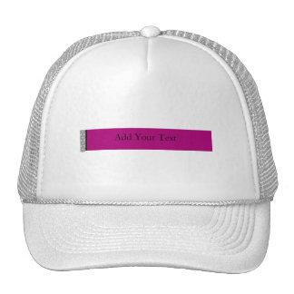 Damask Delight in Purple Hats