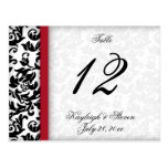 Damask Delight Table Number