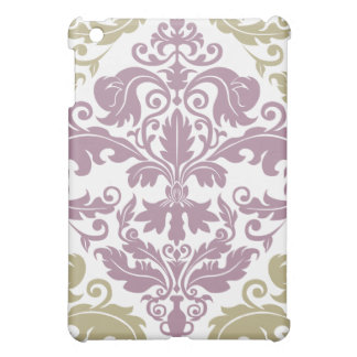 Damask Duo  iPad Mini Case - Purple & Sage