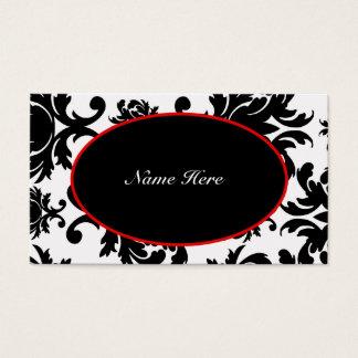 Damask Elegant Business Cards