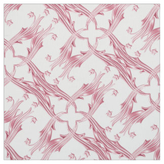 damask floral pattern fabric