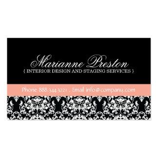 Damask Interior Designer Business Card