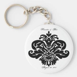 Damask Keychain