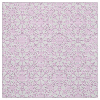 Damask  lace fabric