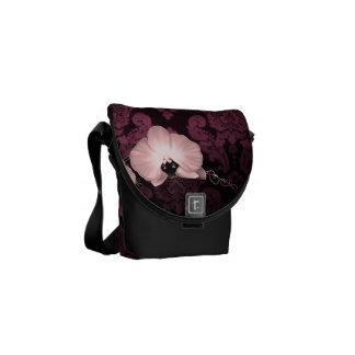 Damask Messenger Bags