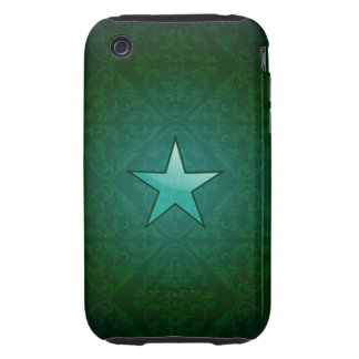 damask military star tough iPhone 3 case