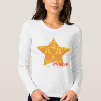 Damask Orange-Yellow 3 Shirt
