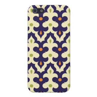 Damask paisley arabesque Moroccan pattern girly iPhone 5 Cover