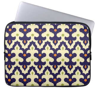 Damask paisley arabesque Moroccan pattern girly Computer Sleeve