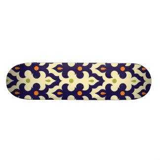 Damask paisley arabesque Moroccan pattern Skate Board Deck