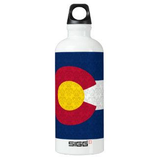 Damask Pattern Colorado Flag SIGG Traveller 0.6L Water Bottle