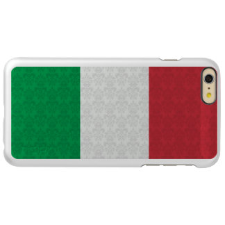 Damask Pattern Flag of Italy