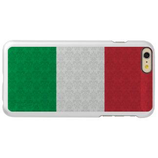 Damask Pattern Flag of Italy Incipio Feather® Shine iPhone 6 Plus Case