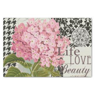 Damask Pattern Floral Decorative Collage Tissue Paper