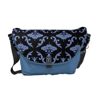 Damask Pattern Courier Bag