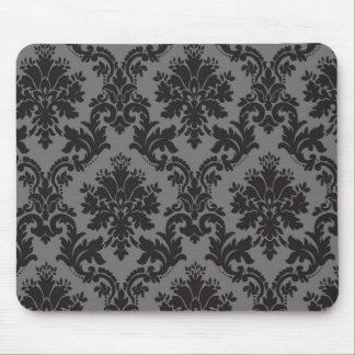 Damask pattern mouse pad
