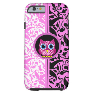 damask pattern owl tough iPhone 6 case