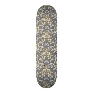 Damask pattern skate board decks