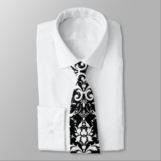 Damask Pattern Tie