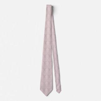 Damask Pink Blush Tie