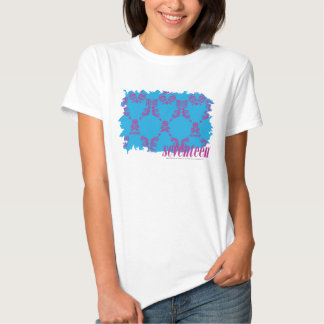 Damask Purple-Aqua 4 Tee Shirts