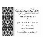 Damask Save the Date Card- Customise it!