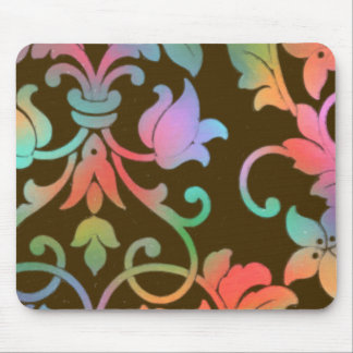 Damask Sizzle Mouse Pad